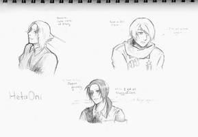 HetaOni Sketch Dump 2 by fullxmetalxgir