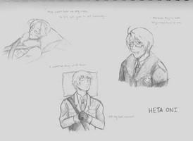 HetaOni Sketch Dump 3 by fullxmetalxgir