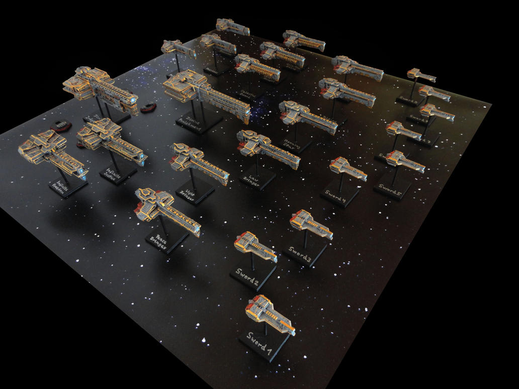 Dindrenzi Federation Fleet of the Divine Order by nicedino