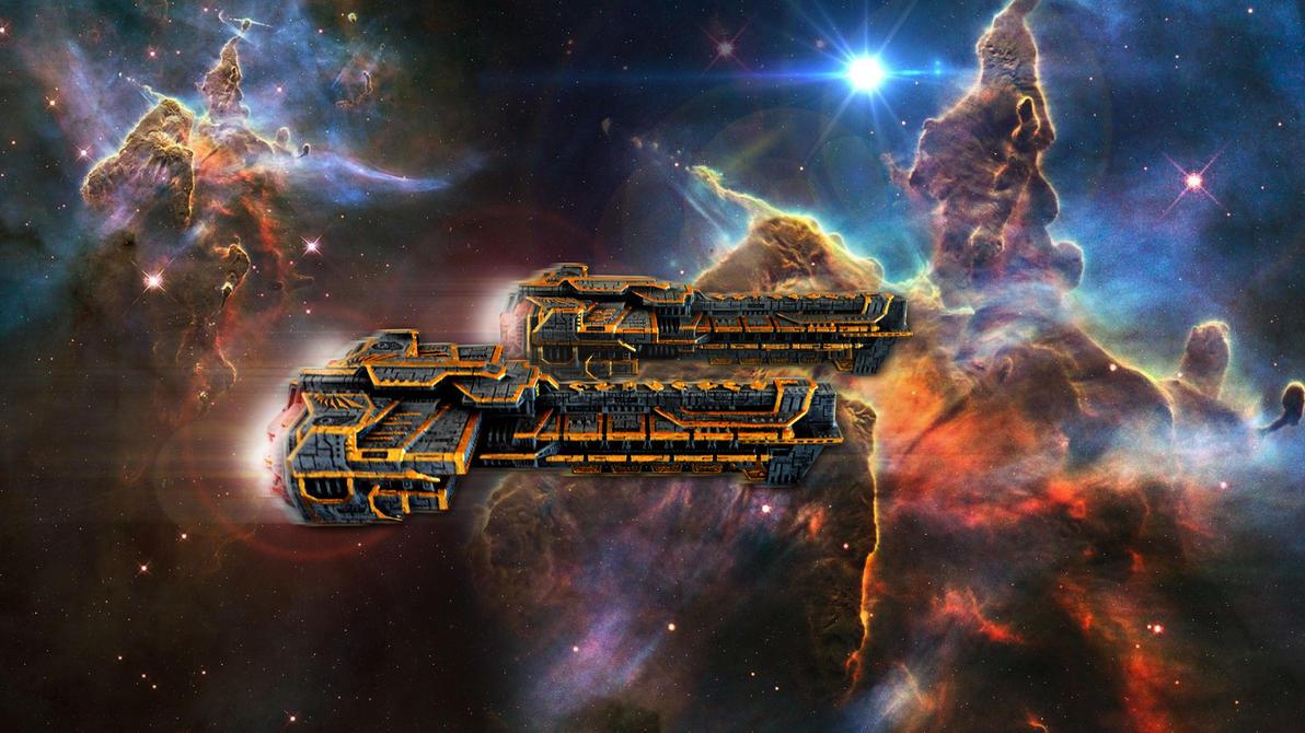 Divine Order battlecruisers by nicedino