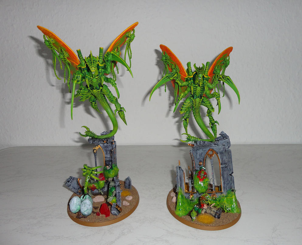 2 Hive Crones by nicedino