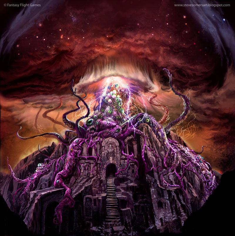 Los Dioses de Lovecraft  y sus criaturas Yog_sothoth_by_stephensomers-d6vq3w5