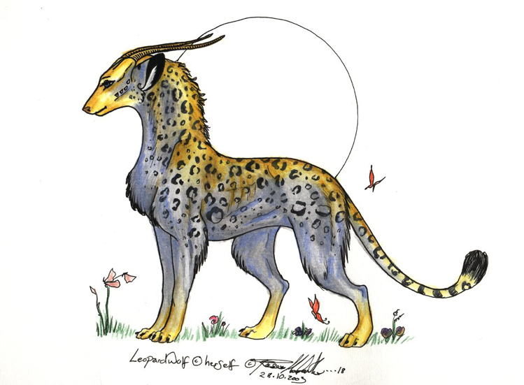 giftie for LEOPARDWOLF by moonfeather
