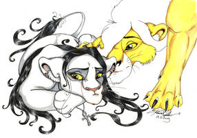 LionKing me all sad unfinished by moonfeather