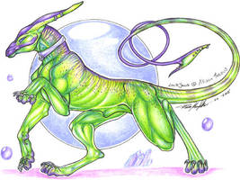 Allison Theus Lockjaw by moonfeather