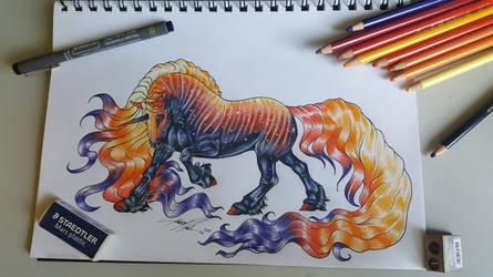 Boucle Unicorn Art