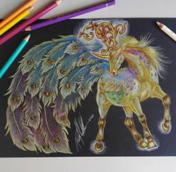 Boucle unicorn Hathor