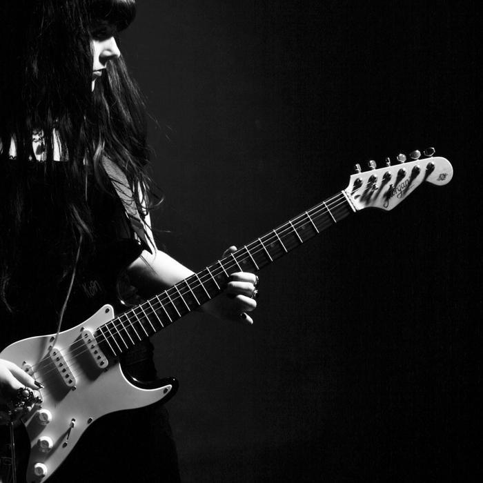 Guitar girl by Ahnimah