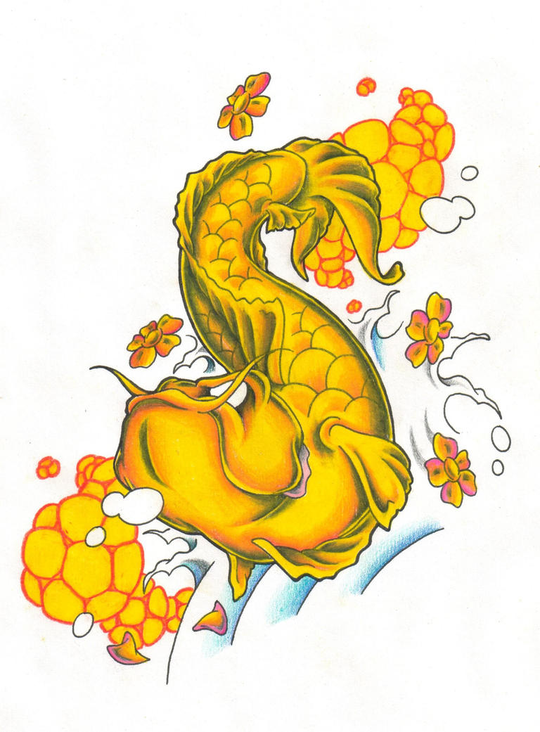 Tattoo pictures by glen olsen for Two koi fish