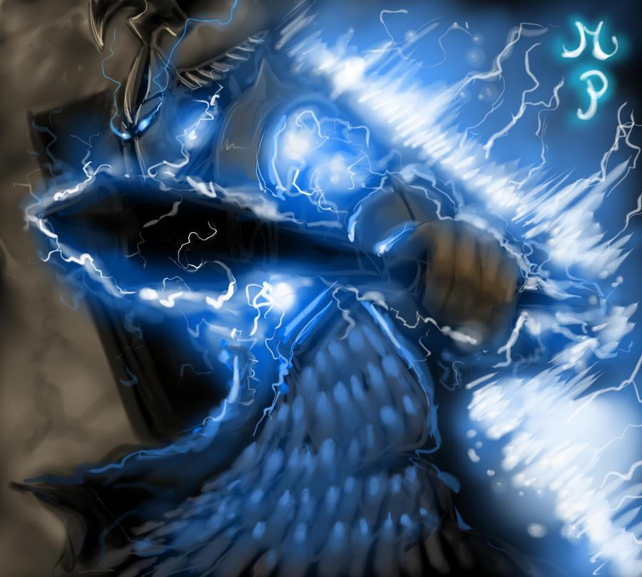 Download <b>Wallpaper</b> 1920x1080 <b>Razor</b>, Lightning revenant, <b>Dota</b> 2 ...