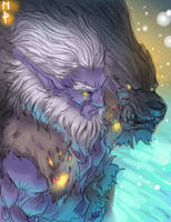 Dota Syllabear Color by ManiacPaint
