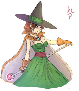 Female Wizard DQ3