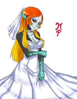 Midna wedding dress 2 by ManiacPaint
