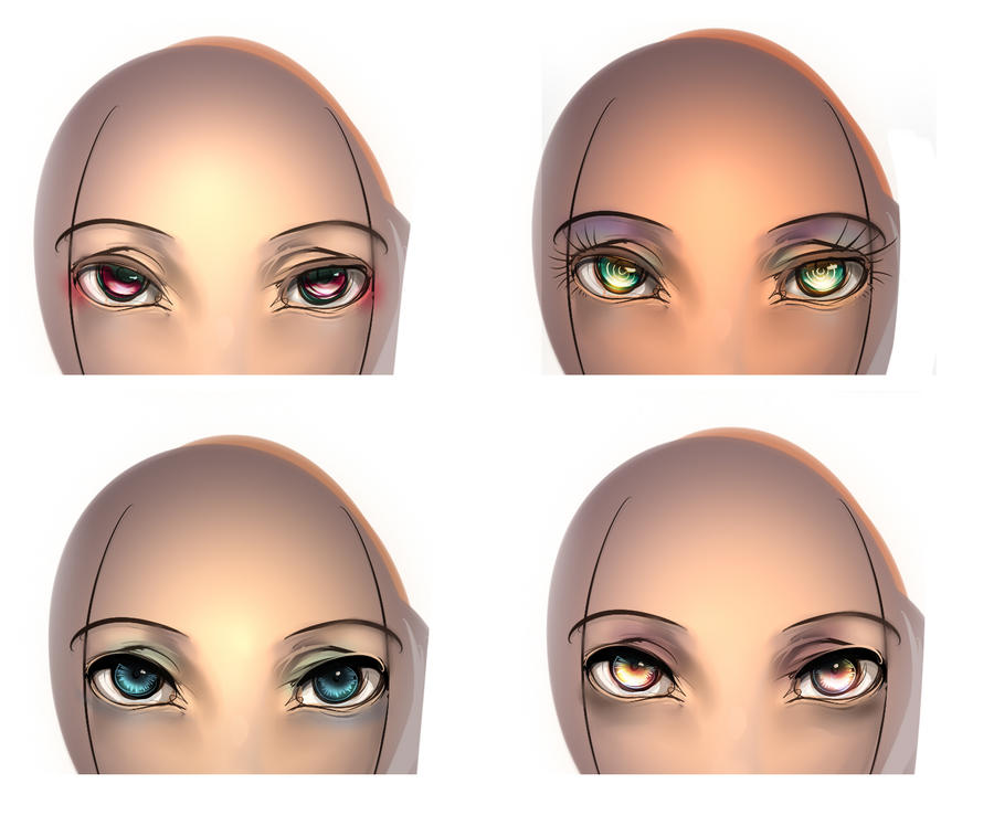 Eyes Practice 01 by ManiacPaint