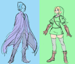 Fi and Link SwapGender by ManiacPaint