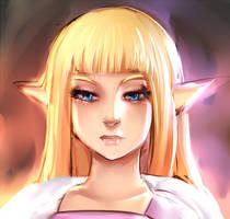 Princess Zelda RBrush by ManiacPaint