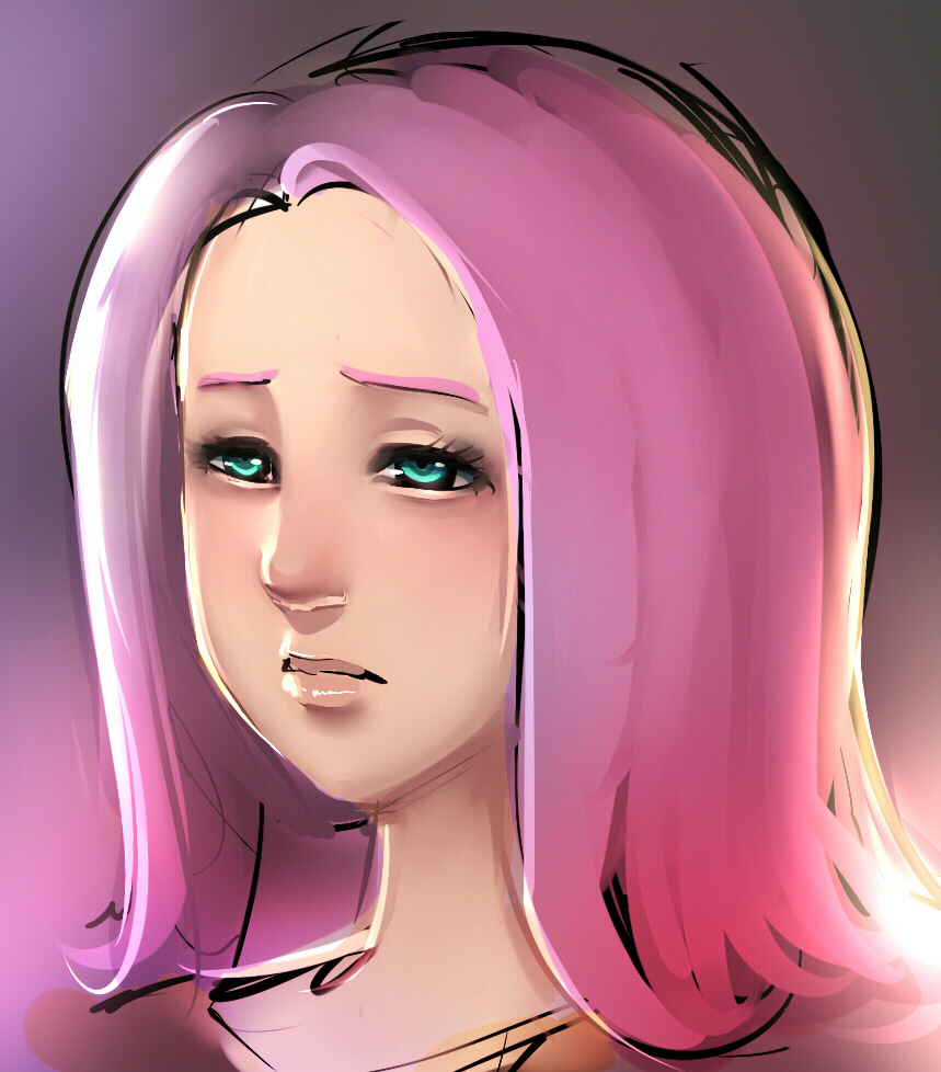 Fluttershy H RBrush by ManiacPaint