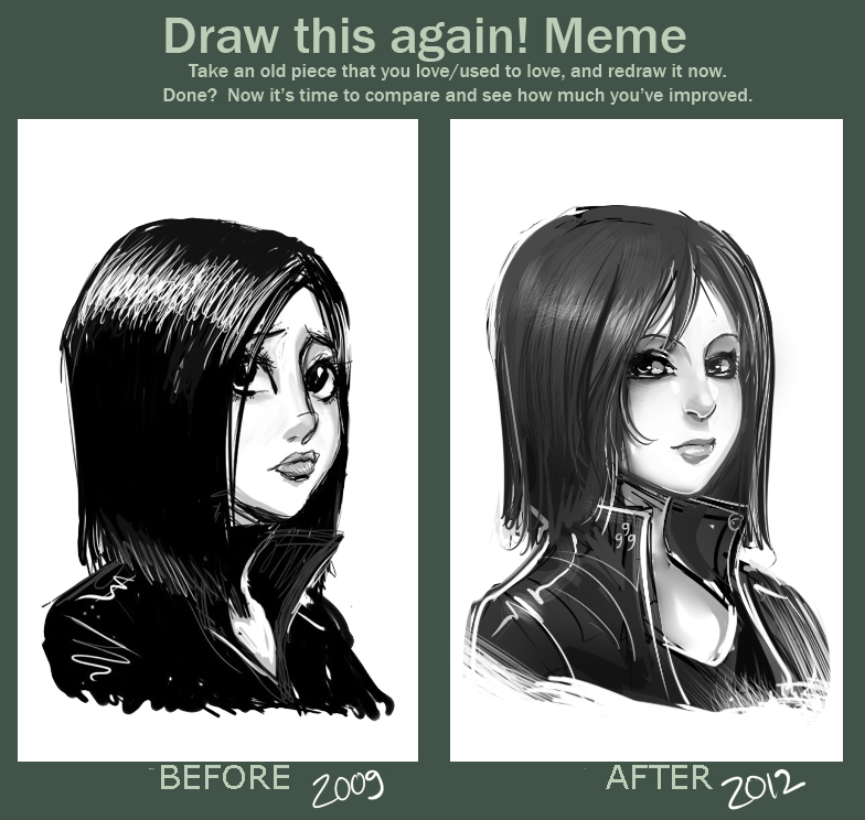 Re-DraW MEME by ManiacPaint