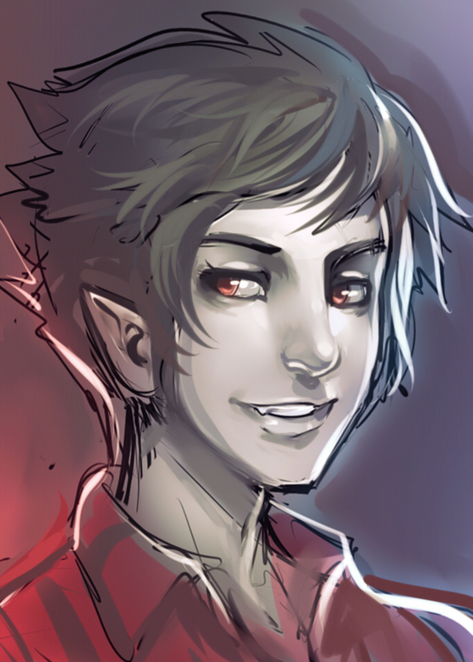 Marshall Lee  RBrush by ManiacPaint