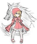 Red Riding Hood by ManiacPaint