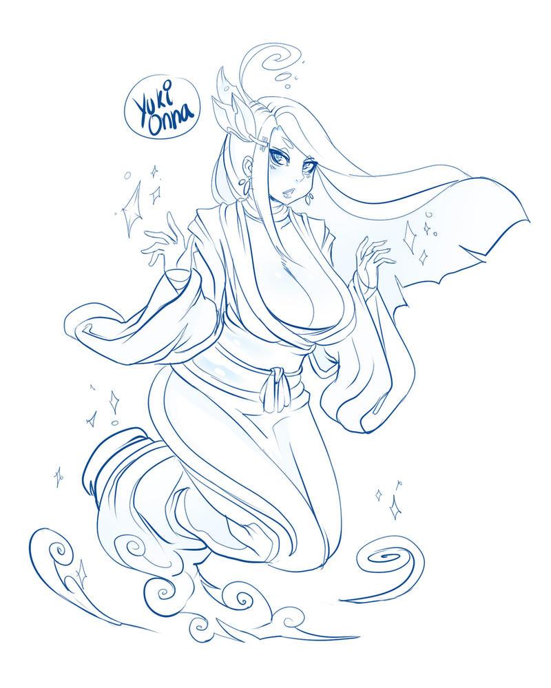 Yuki Onna by ManiacPaint