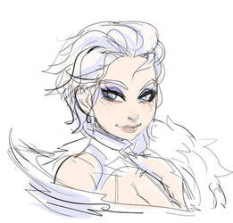 ELSA MY QUEEN by ManiacPaint