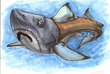 Any Shark by Tewateroniakwa