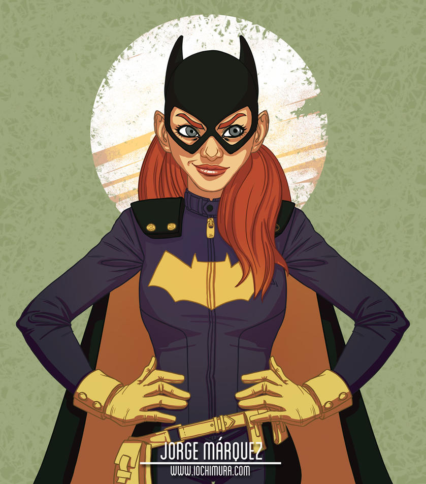 Batgirl of Burnside by JorgeMarquez
