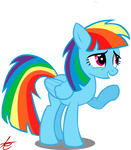 Rainbow Dash is Twilight'ish