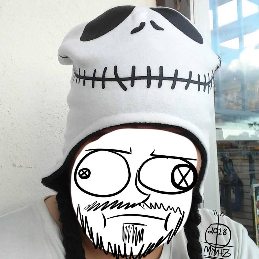 7b097d895877e My Jack Skellington Winter Hat by ThatDudeMintZ on DeviantArt