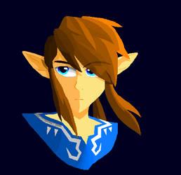 Wii U Link - MS Paint