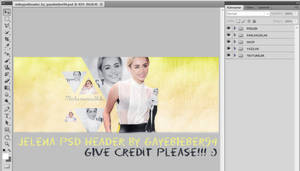 MILEY PSD HEADER by GayeBieber94