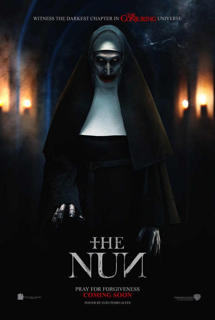 The Nun (2018) movie poster by johnyisthedevil on DeviantArt