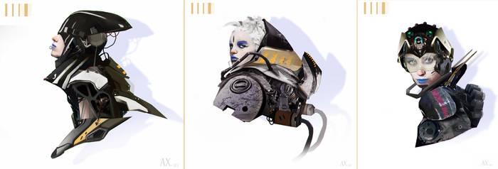 Sci Fi Studies by AlexanderBrox0101