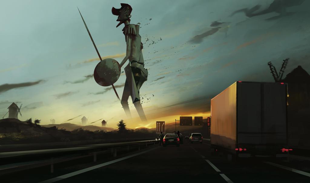The Road  to la Mancha by AlexanderBrox0101