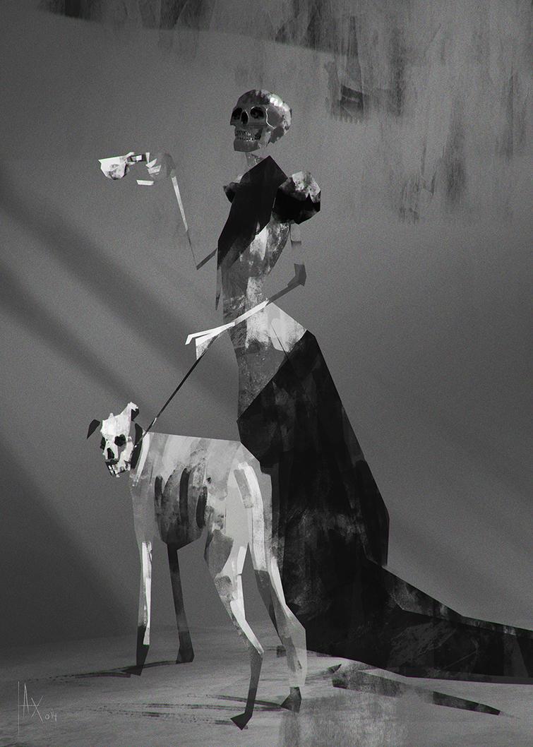 Black Skull by AlexanderBrox0101