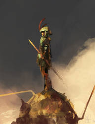 Warrior Sky by AlexanderBrox0101