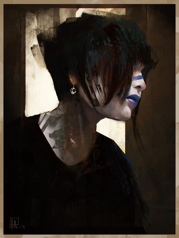 Girl Portrait by AlexanderBrox0101