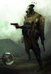 Soldier_Moon by AlexanderBrox0101
