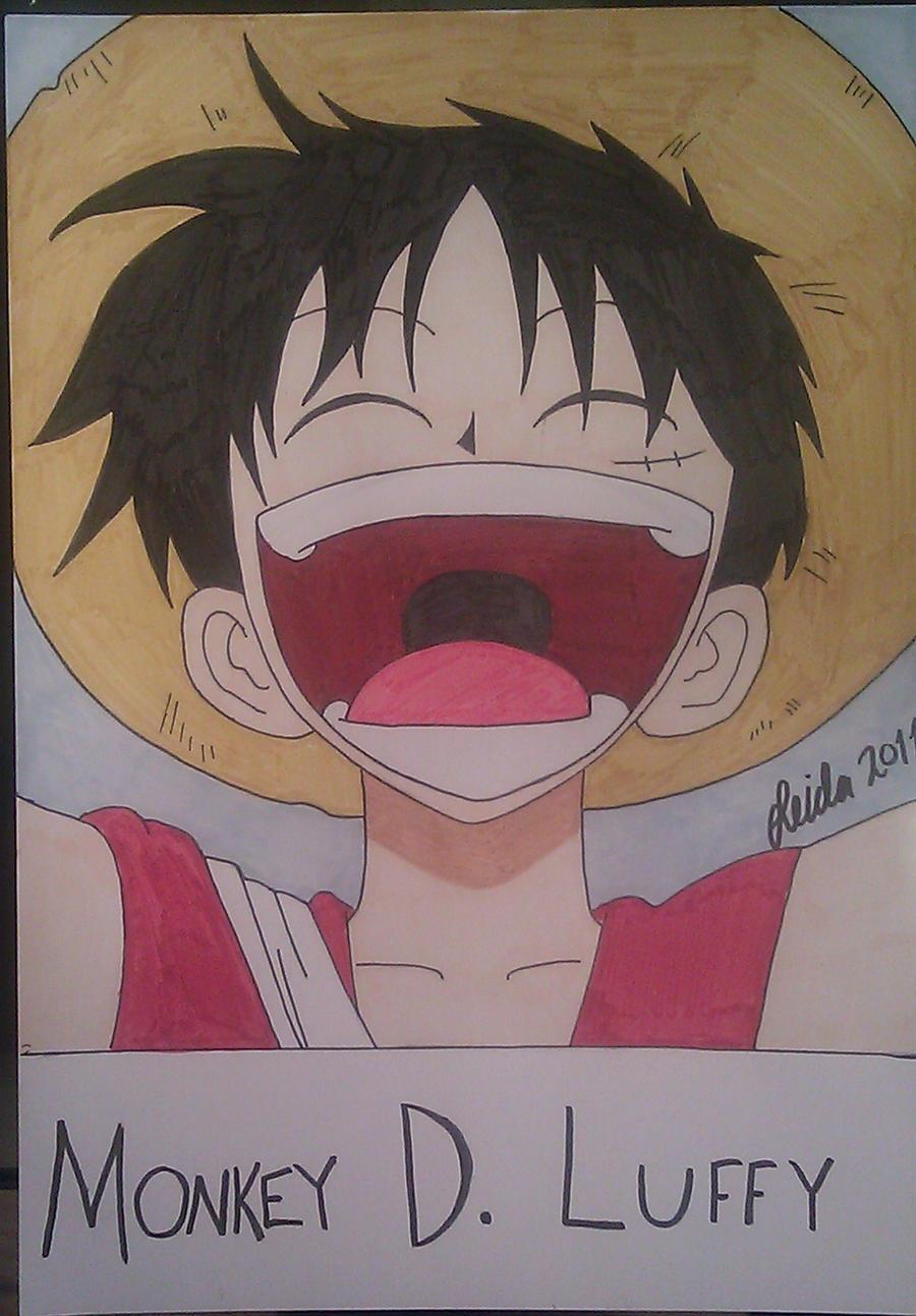 Luffy S Laugh By Leidosapiens On Deviantart