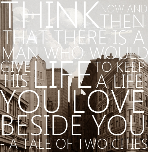 quotes of a tale of two Jack conway's 1935 adaptation of charles dickens' a tale of two cities is often regarded as the finest  a tale of two cities quotes there are no approved quotes.