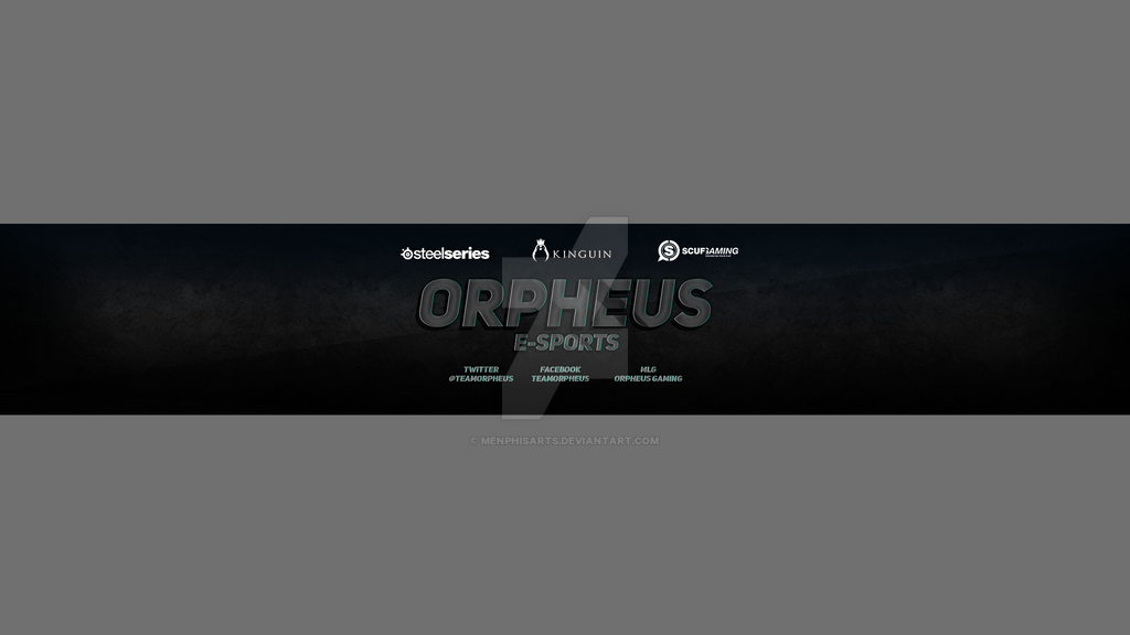 orpheus gaming youtube banner by menphisarts on deviantart. Black Bedroom Furniture Sets. Home Design Ideas