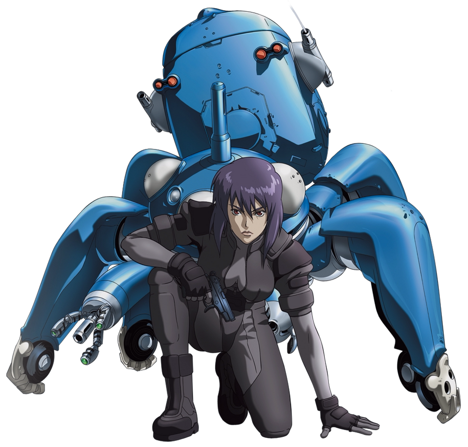 Idiivil: Ghost In The Shell By LaughingGurl On DeviantArt