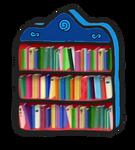 Blue's Clues Lightblue Bookcase 2