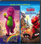 Barney and Elmo Movies Double Feature 2 - DVD Set