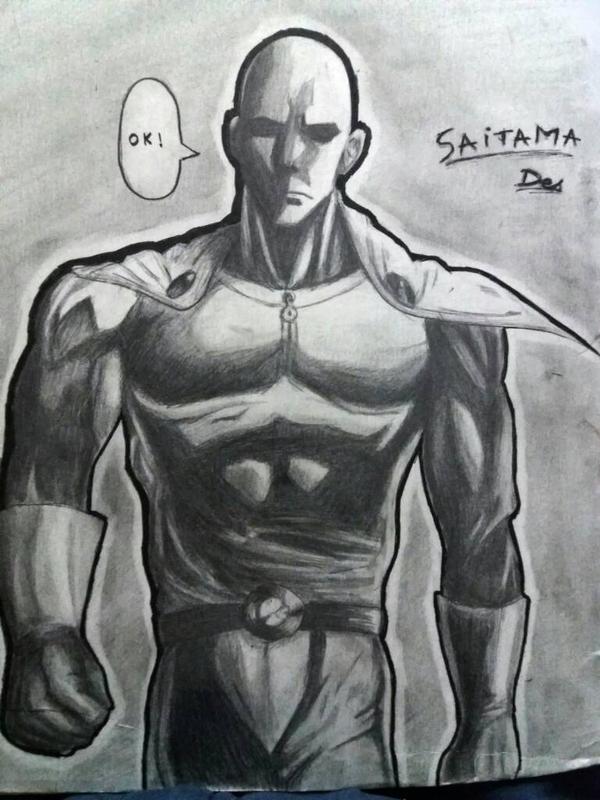 Saitama Fanart From One Punch Man By Etsitpab83 On Deviantart