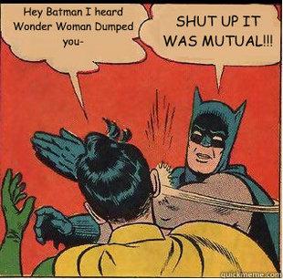 Batman slapping meme. by MASTER-OF-SUPRISE