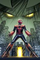Edge of Spider-verse Spider-Man Dr. Aikman. by MASTER-OF-SUPRISE