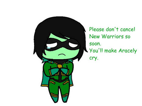 New Warriors Aracely add.