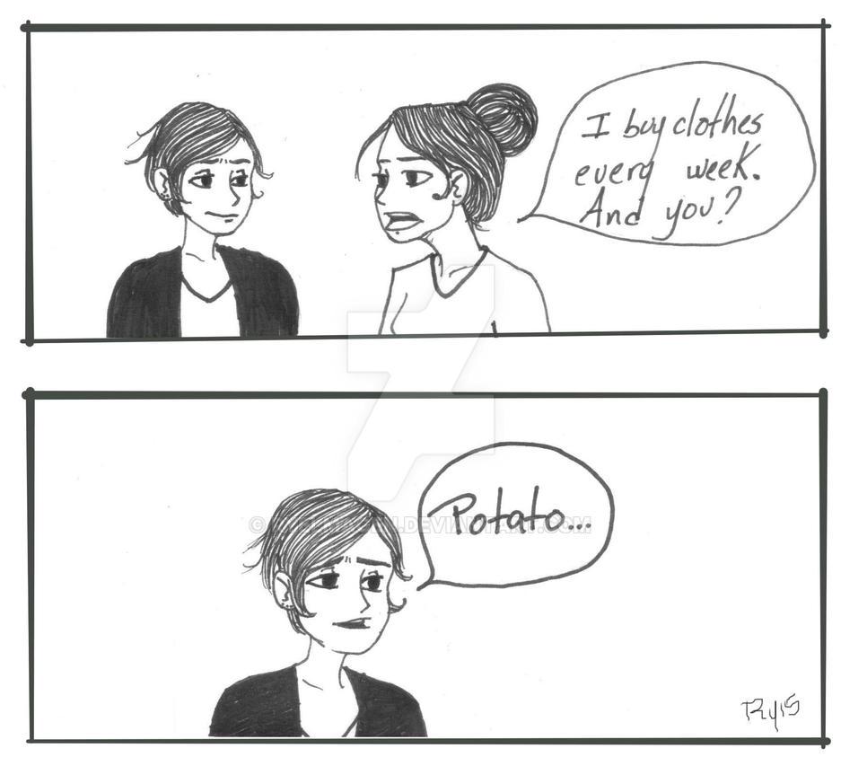 Potato by Ryelmagen